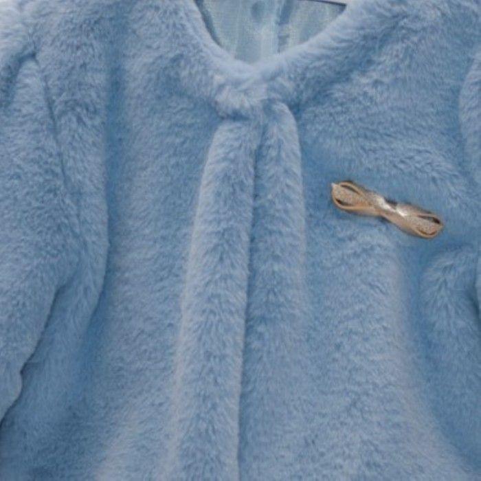 Casaco Menina Azul Celeste