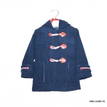 Navy Blue Boy Coat