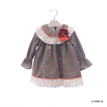 Vestido Menina com Laço Beatrix