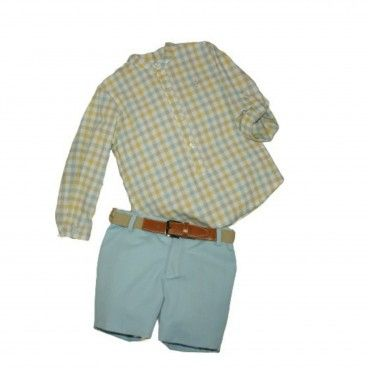 Boy 2 Piece Set - Shirt and Shorts