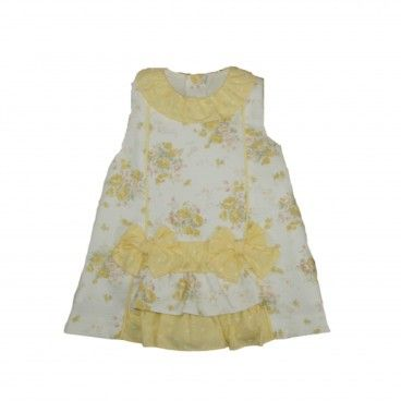 Yellow Baby Cotton Dress