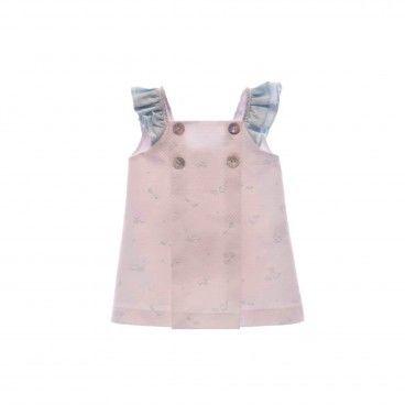 Girls  Cotton Poplin Dress