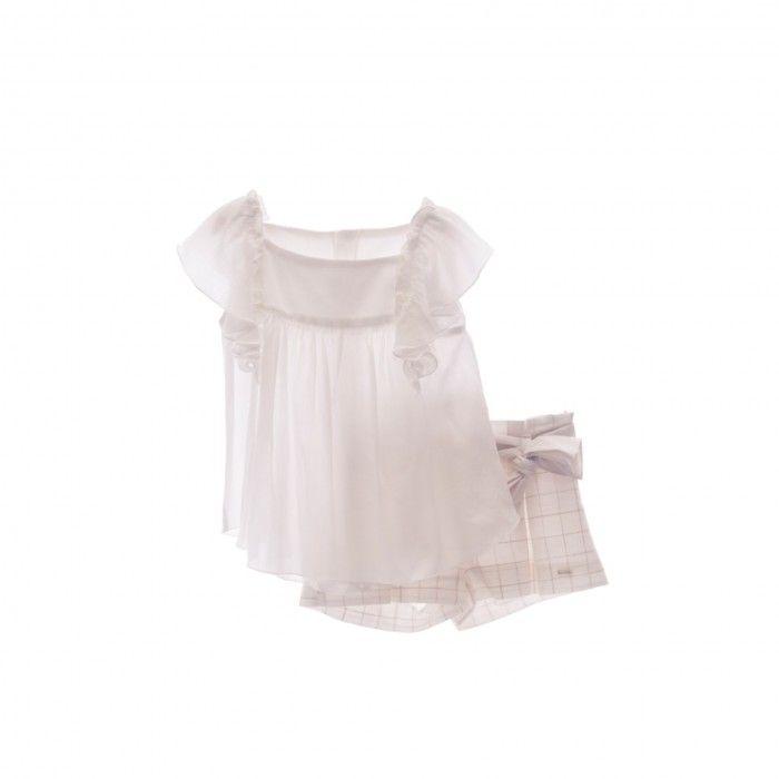 Girls Cotton Shorts & Top Set