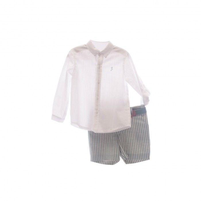 Conjunto Menino Camisa & Calção Verde