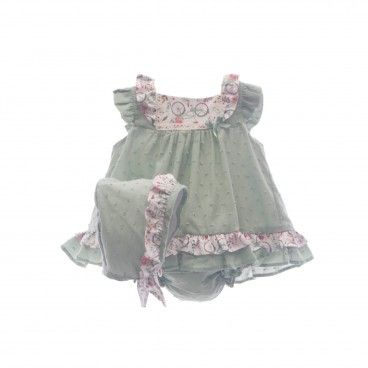 Gren Baby Girl 3 Piece Shorts Set