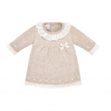 Light Brown Knitted Dress