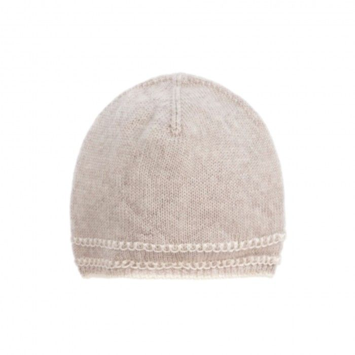 Light Brown Baby Hat