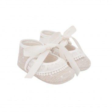 Sapato Bege Bebé Menina Paz