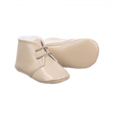Beige Pre-Walker Shoes