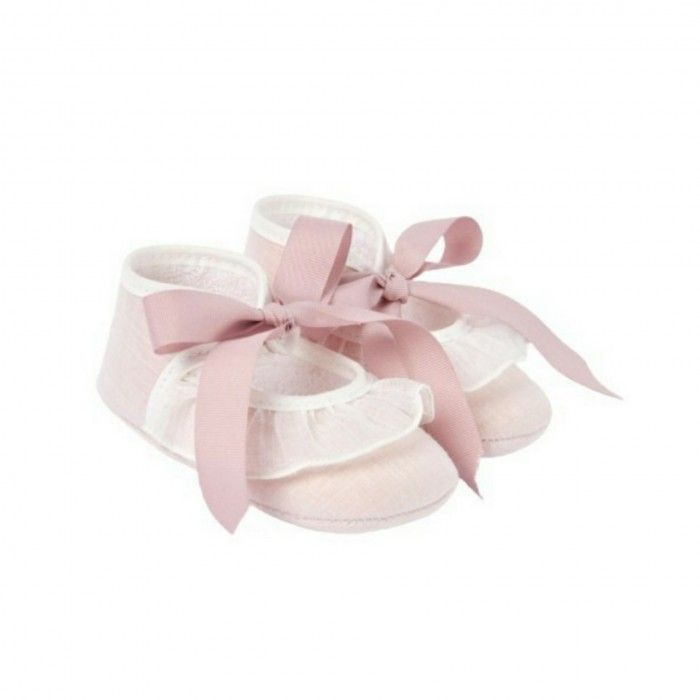 Baby Girls Pink Pre-Walker Shoes