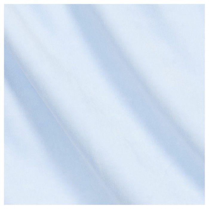 Paz Blue Velour Blanket