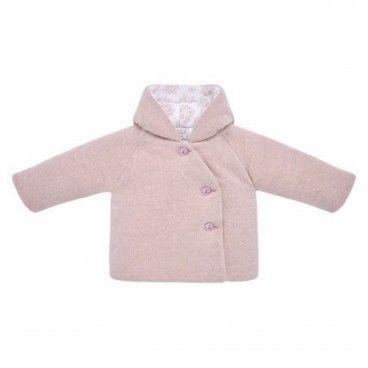 Baby Girls Pink Pram Coat