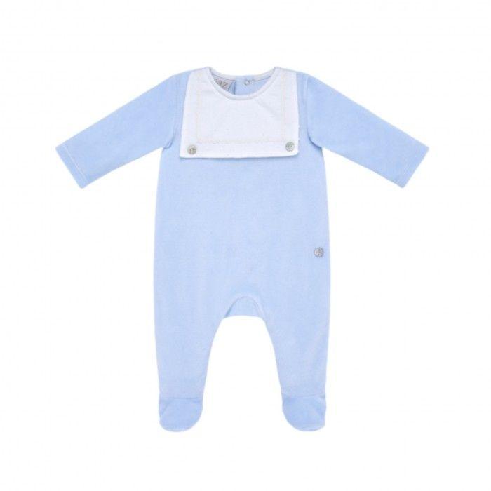 Babygrow Algodão Azul Eco