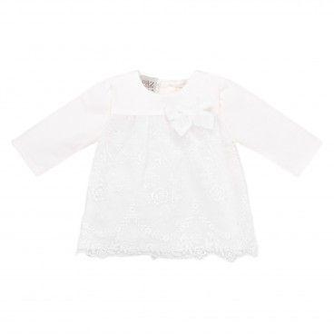Baby Girls Ivory Lace Dress