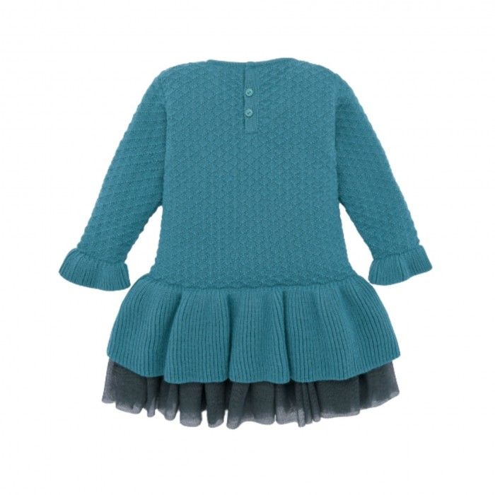 Vestido Malha Verde