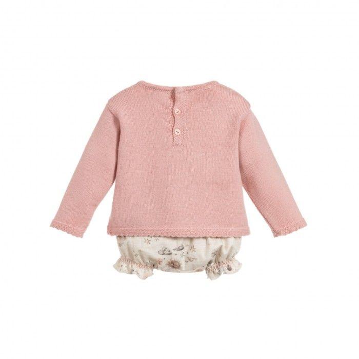 Conjunto Sweater & Tapa Fralda Luna