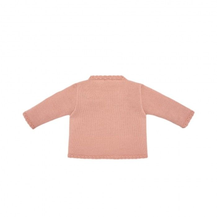 Luna Pink Knitted Cardigan