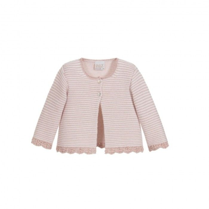 Aurora Pink Knitted Cardigan