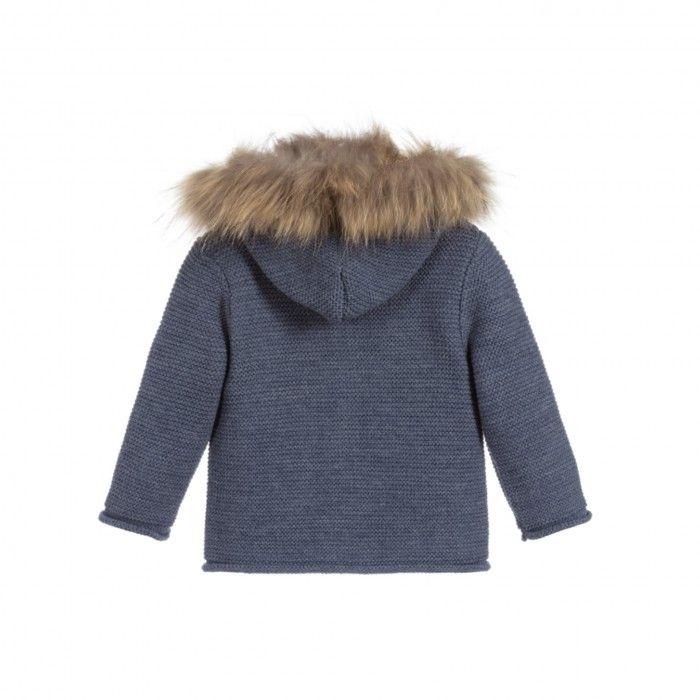 Paz Baby Blue Jacket