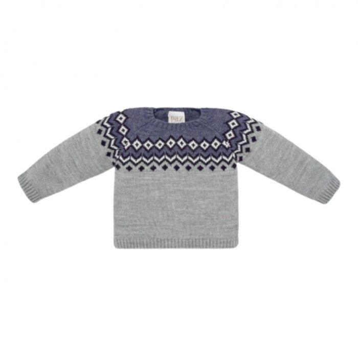 Grey Wool Sweat Orion