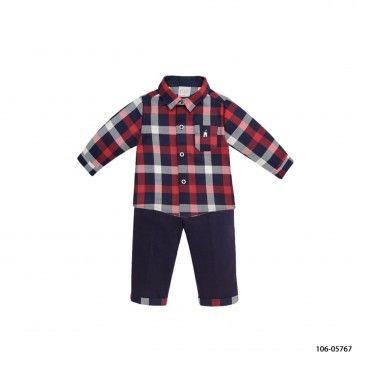 Boys Shirt & Trousers Set