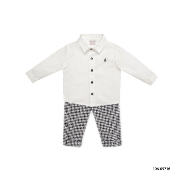 Baby Boys Shirt & Trousers Set