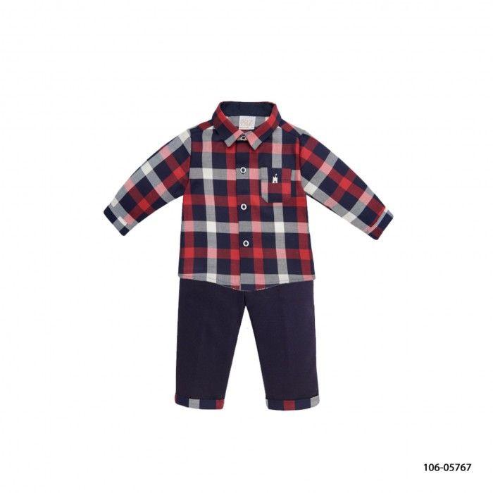 Conjunto Menino - Camisa e Calça