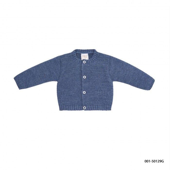 Baby Blue Wool Cardigan