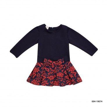 "Knit Infant Girl Dress ""Gala"""