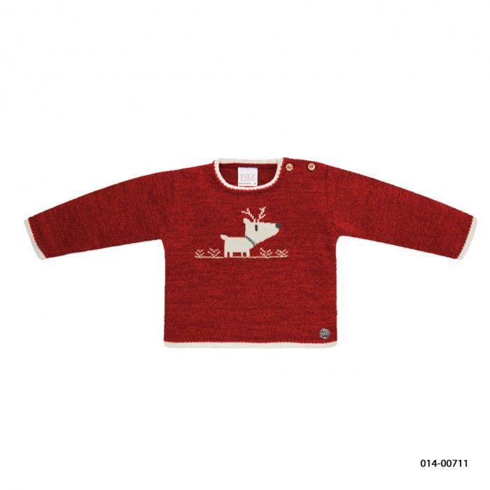 Reindeer Knit Baby Boy