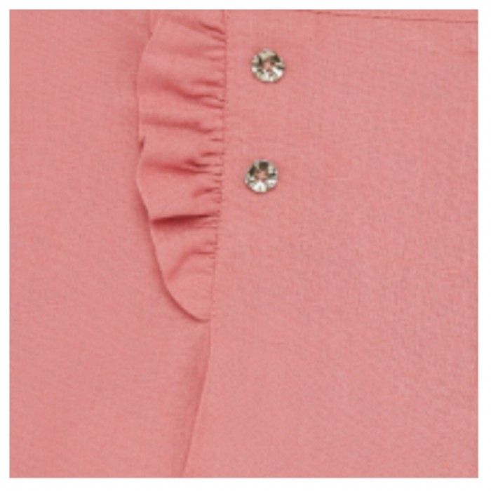Pink Cotton Short Set