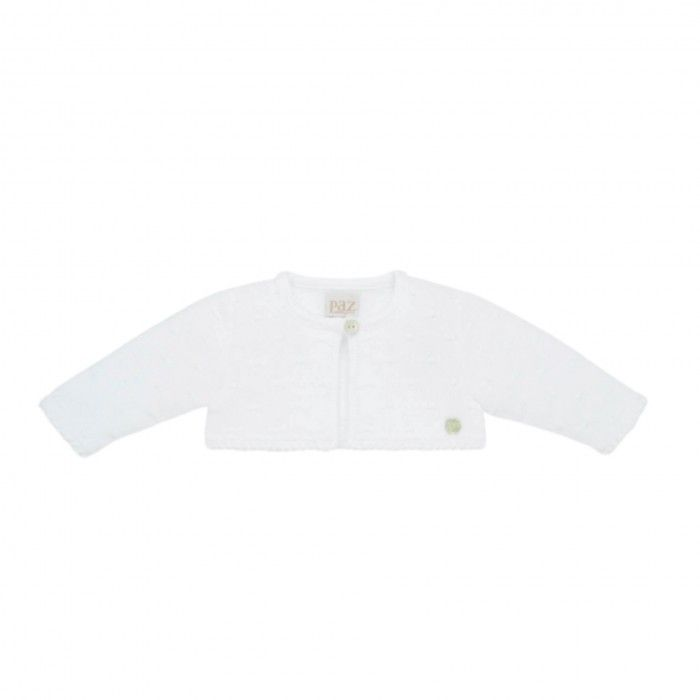 Baby Girls Ivory Knitted Cardigan