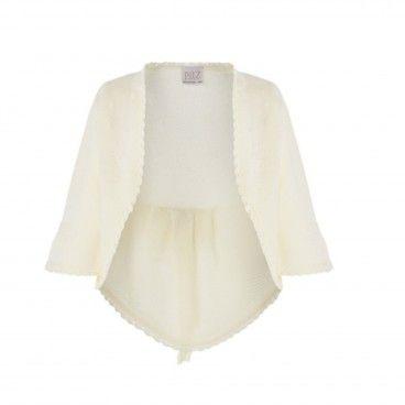 Cream Knitted Ceremony Cardigan