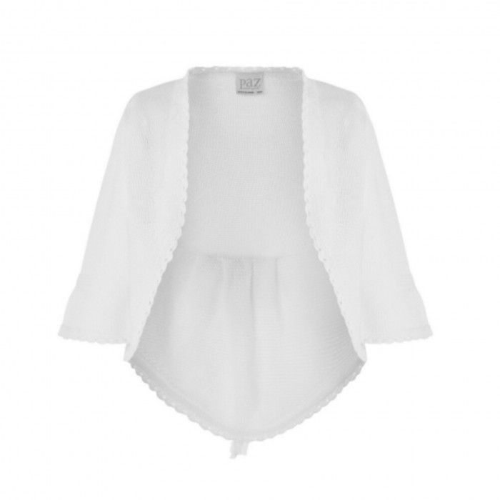 Ivory Knitted Ceremony Cardigan