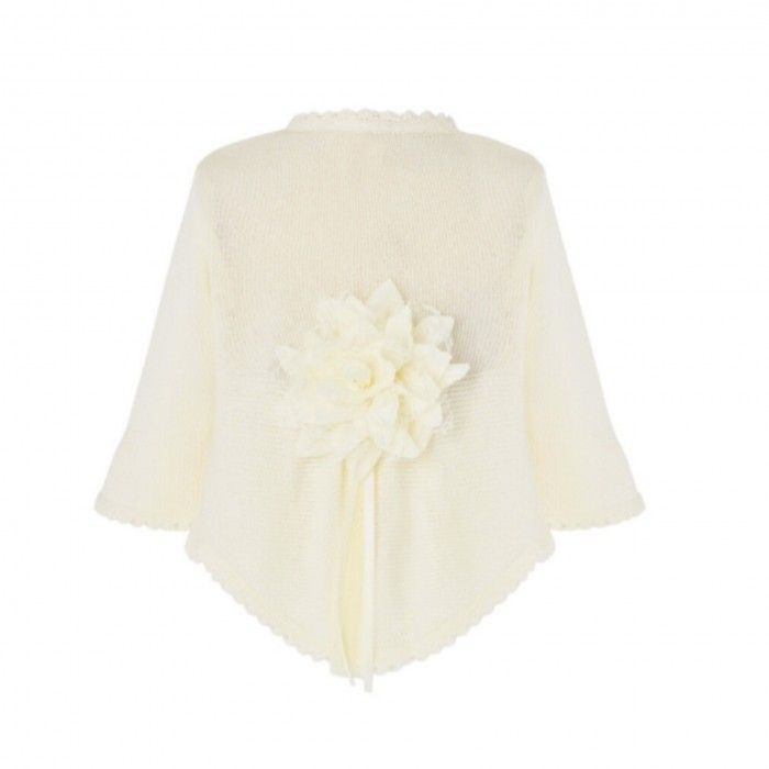 Cream Knitted Ceremony Cardigan