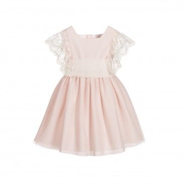 Girls Pink Ceremony Dress