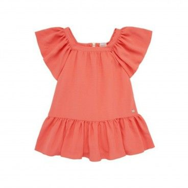 Vestido Coral Menina