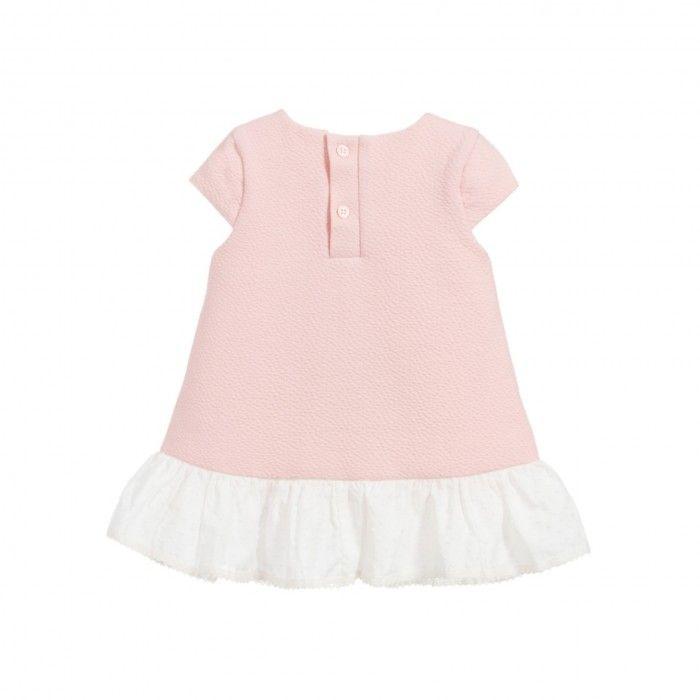 Vestido Laço Rosa Menina