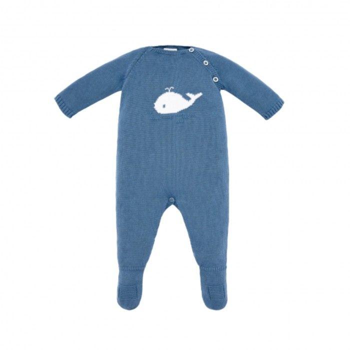 Babygrow Bebé Azul Ártico