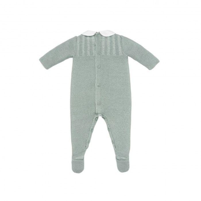Babygrow Bebé Verde Menta