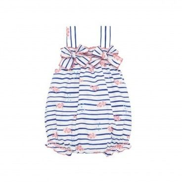 Blue & Pink Cotton Nemo Shortie