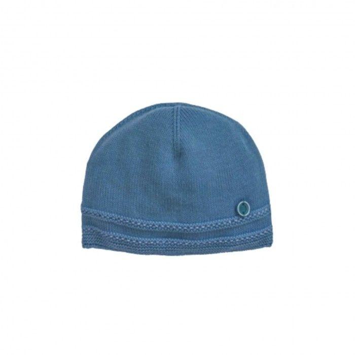 Navy Cotton Baby Hat