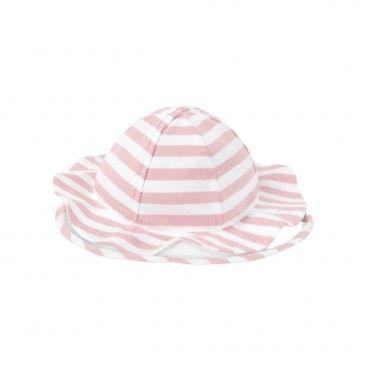 Baby Girl Striped Hat
