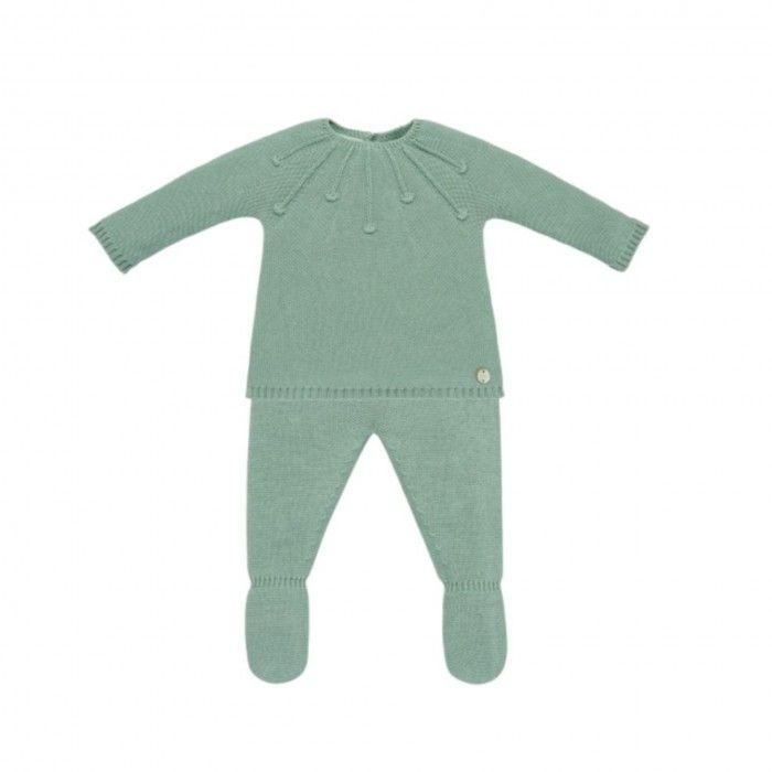 Conjunto Bebé Verde Menta