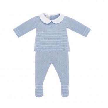 Conjunto Azul Bebé Paz