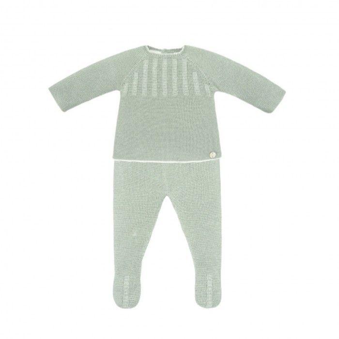 Mint Green 3 Piece Babygrow