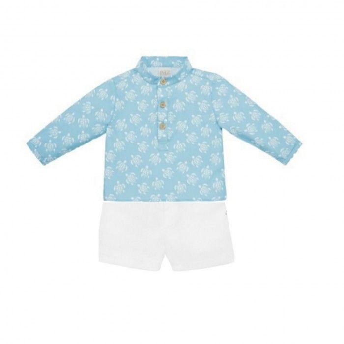 Baby Boys Shirt & Shorts Set