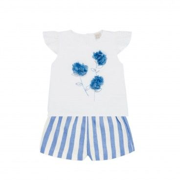 Paz Girls Shirt & Shorts Set