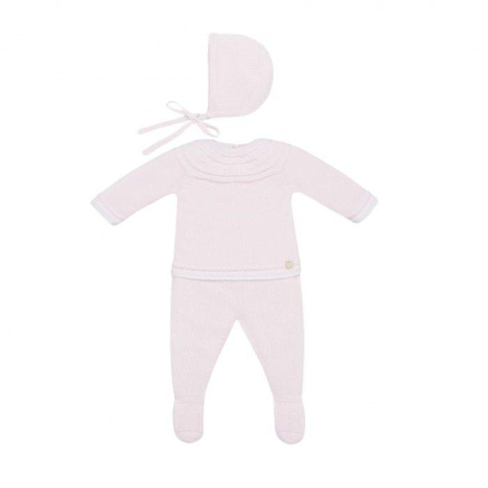 Babyborn White & Chalk Pink 3 Piece Set
