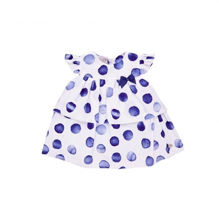 Vestido Bebé Blue Fog